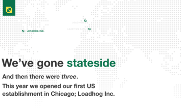 Loadhog, expands to the USA.