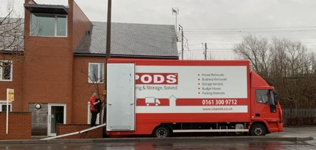 Manchester Home Removals Image - Loading Removal Truck