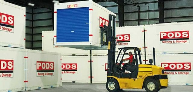 PODS Warehouse Container Storage