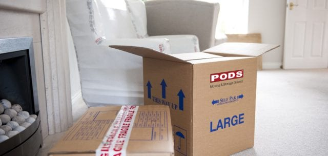 Boxes and Packing for your home removals Manchester