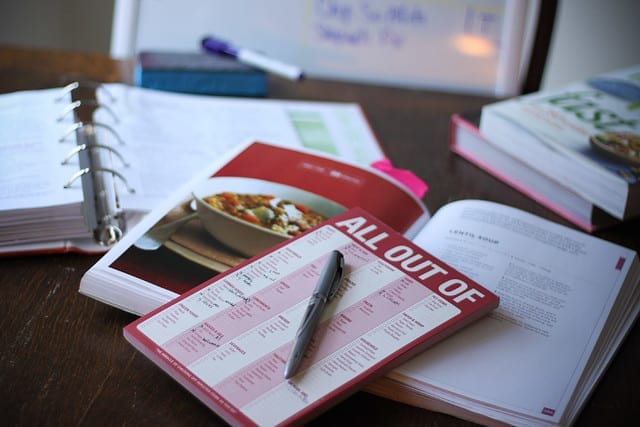 meal planning to save money